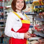 продавец, работать на кассе, продавец в Польше