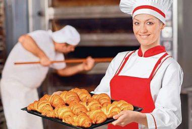 пекарь, работать пекарем, печь булочки