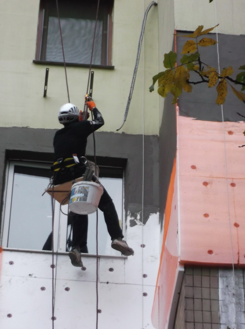 вакансия фасадчик, утеплять фасады в Польше