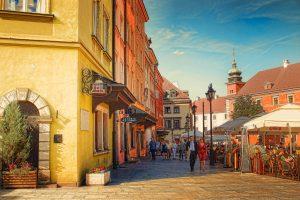 Работа в Варшаве