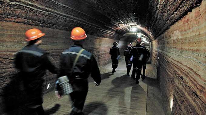 Knurów, шахтер, работать в шахте, работать в шахте шахтером, шахтер в Польше