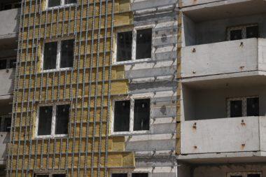 утепление фасадов, работа в Польше, фасады,