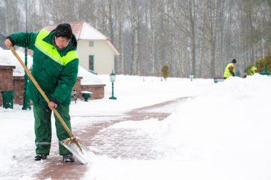 9719, коммунальная служба, дворник, работать дворником, дворник в Польшу