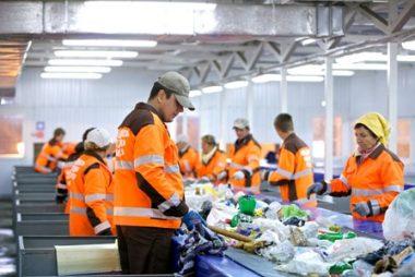 9722, сортировщик мусора, работать на сортировке мусора, мусорщик, актуальная вакансия мусорщик, сортировать мусор в Польше